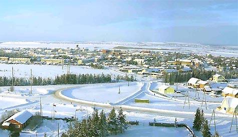 Ижма. Зима