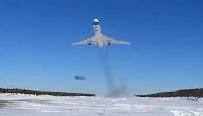 Легендарный взлет Ту-154 с Ижмы