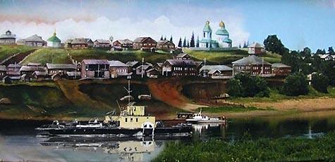 Троицко-Печорск 20 век