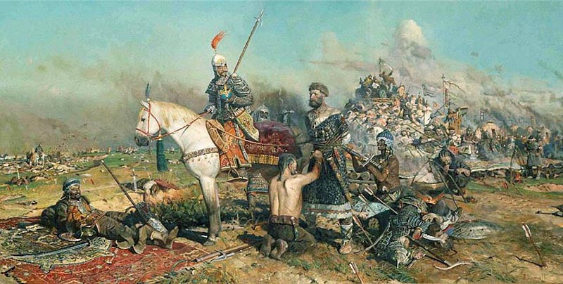 Картина Павла Рыженко «Калка»,