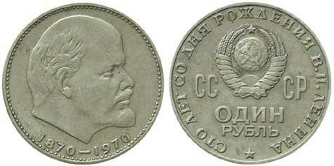Монета с изображением ленина сколько стоит 1 рубль 1924г