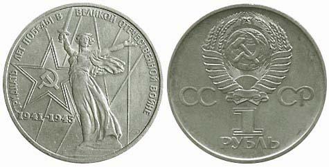 Каталог цен на юбилейные рубли ссср самый лучший металлоискатель для поиска монет